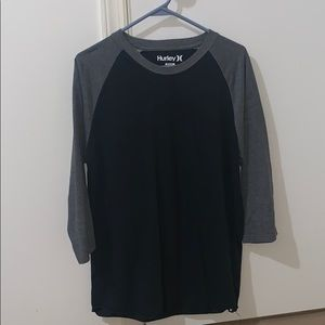 Hurley 3/4 sleeve shirt